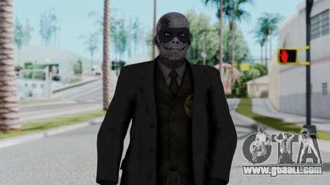 SkullFace Mask for GTA San Andreas