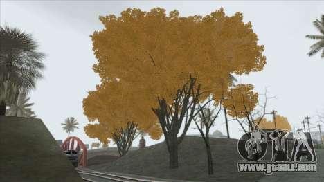 Autumn in SA v2 for GTA San Andreas second screenshot
