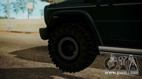 Mercedes-Benz G500 Off-Road for GTA San Andreas back left view