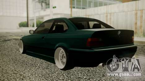 BMW M3 E36 Coupe for GTA San Andreas left view