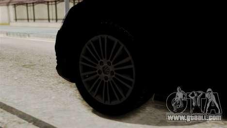 Volkswagen Golf R32 NFSMW05 Sonny PJ for GTA San Andreas back left view