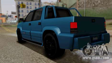 Syndicate Criminal (Cavalcade FXT) from SR3 for GTA San Andreas left view