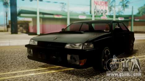 Sultan Hell Cat for GTA San Andreas back left view