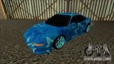 Toyota MR2 Drift Blue Star for GTA San Andreas