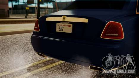 Rolls-Royce Ghost Mansory v2 for GTA San Andreas side view