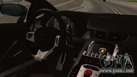 Lamborghini Aventador LP-700 Razer Gaming for GTA San Andreas right view