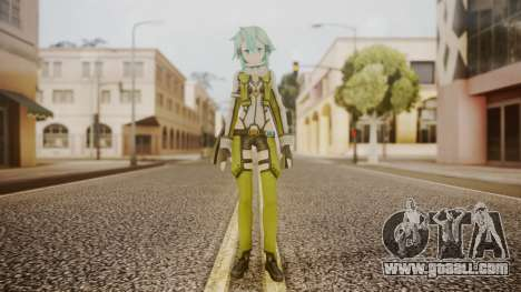 Sinon GGO for GTA San Andreas second screenshot