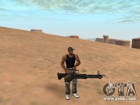 M249 for GTA San Andreas