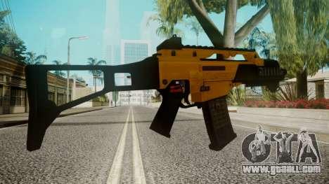 G36C Gold for GTA San Andreas third screenshot