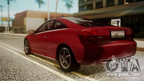 Toyota Celica SS2 Tunable for GTA San Andreas left view