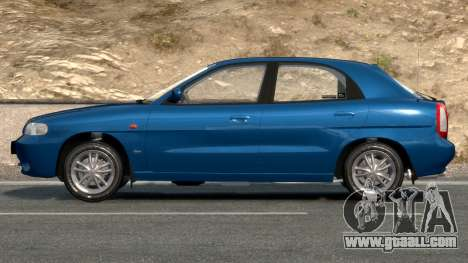 Daewoo Nubira I Hatchback CDX 1997 for GTA 4 side view