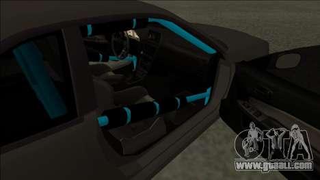 Nissan Skyline R34 Drift Monster Energy for GTA San Andreas back left view