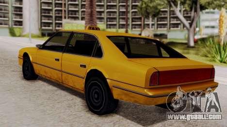 Taxi Emperor v1.0 for GTA San Andreas left view