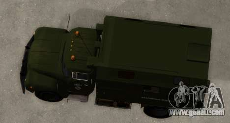 ZIL-130 Emergency Water for GTA San Andreas right view