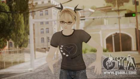 DoA 5 Ultimate - Marie Rose Punk for GTA San Andreas