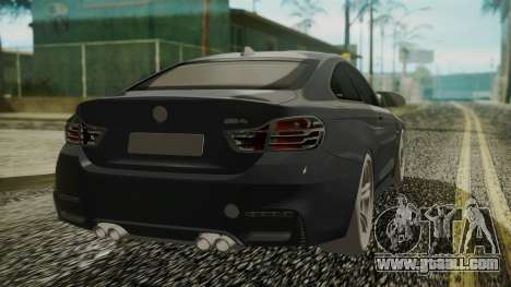 BMW M4 Coupe 2015 Carbon for GTA San Andreas left view