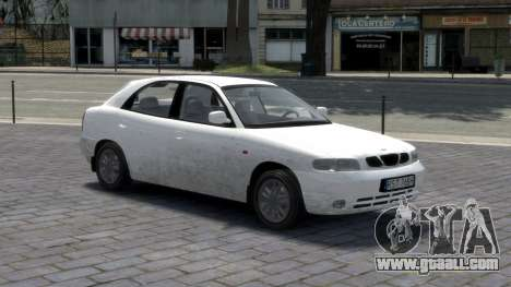 Daewoo Nubira I Hatchback CDX 1997 for GTA 4 interior
