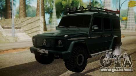 Mercedes-Benz G500 Off-Road for GTA San Andreas
