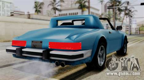 Comet from Vice City Stories for GTA San Andreas left view