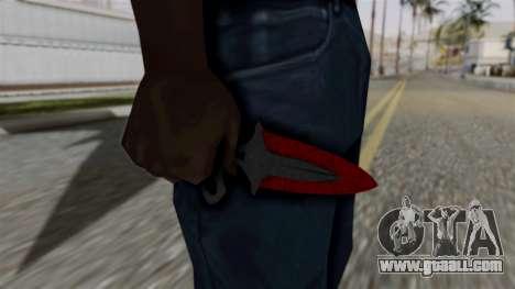 Shadow Dagger Bloody cobwebs for GTA San Andreas third screenshot