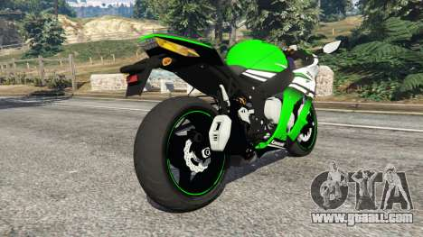 GTA 5 Kawasaki Ninja ZX-10R 2015 right side view