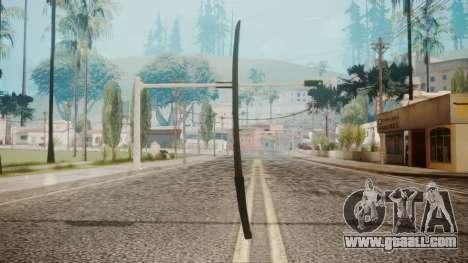 O-Ren Ishii Katana from Kill Bill for GTA San Andreas second screenshot