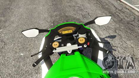 GTA 5 Kawasaki Ninja ZX-10R 2015 rear right side view
