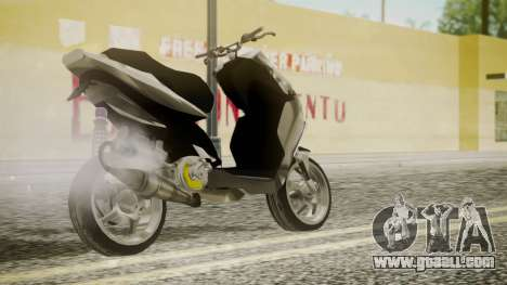 NRG Power Tuning for GTA San Andreas left view