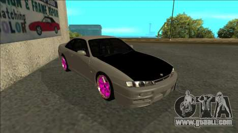 Nissan 200sx Drift JDM for GTA San Andreas left view