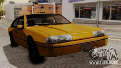 Taxi Emperor v1.0 for GTA San Andreas back left view