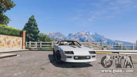 Chevrolet Camaro IROC-Z [BETA] for GTA 5