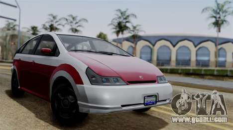 Deckers Solar (Dilettante) from SR3 for GTA San Andreas back view