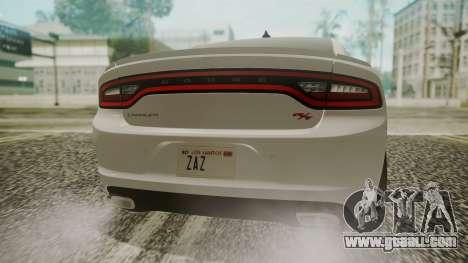 Dodge Charger RT 2015 Hatsune Miku for GTA San Andreas back view