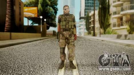 Venom Snake Woodland for GTA San Andreas second screenshot