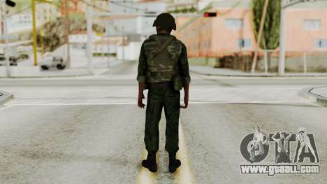 The airborne soldier for GTA San Andreas third screenshot