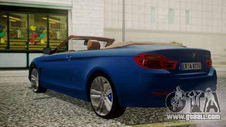 BMW M4 F32 Convertible 2014 for GTA San Andreas left view