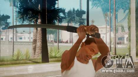 O-Ren Ishii Katana from Kill Bill for GTA San Andreas