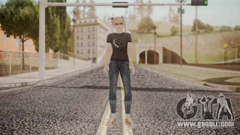DoA 5 Ultimate - Marie Rose Punk for GTA San Andreas second screenshot