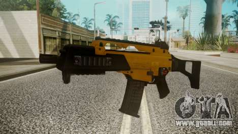 G36C Gold for GTA San Andreas second screenshot