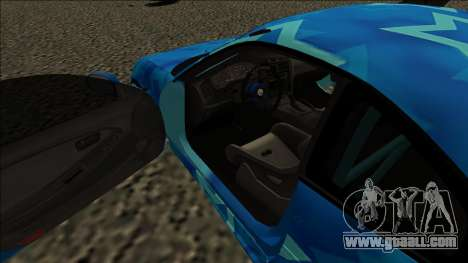 Toyota MR2 Drift Blue Star for GTA San Andreas right view