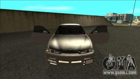 Nissan 200sx Drift JDM for GTA San Andreas inner view