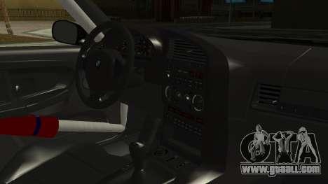 BMW M3 E36 Happy Drift Friends for GTA San Andreas right view