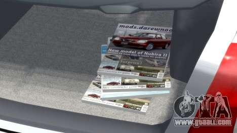 Daewoo Nubira I Hatchback CDX 1997 for GTA 4 upper view
