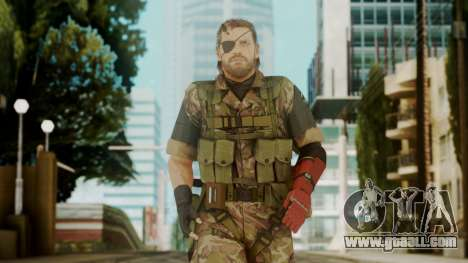Venom Snake Woodland for GTA San Andreas