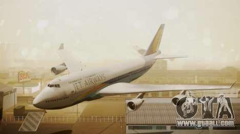 Boeing 747-400 Jat Airways for GTA San Andreas