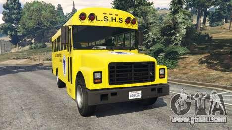 Classic school bus for GTA 5