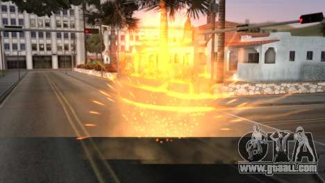 Realistic Effects Particles for GTA San Andreas second screenshot