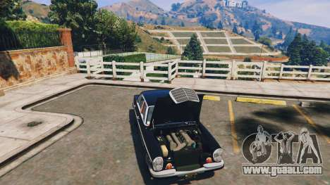 GTA 5 Mercedes-Benz 300SEL 6.3 v1.3 rear right side view
