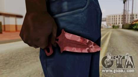 Shadow Dagger Murder for GTA San Andreas third screenshot