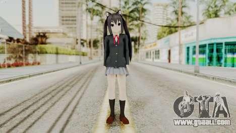 K - ON Remake Asuza Nakano for GTA San Andreas second screenshot